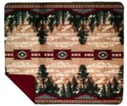 Denali Autumn Point Microplush ® Blanket