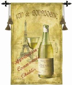 Chablis 27 Tapestry Fine Wall Art Wall Hangings