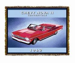 Chevy Nova II ® Tapestry Throw