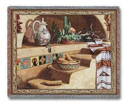 Adobe Dreams Tapestry Throw