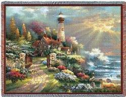 Coastal Splendor Tapestry Throw