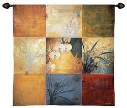 Orchid Nine Patch Sm Tapestry Fine Art Wall Hangings