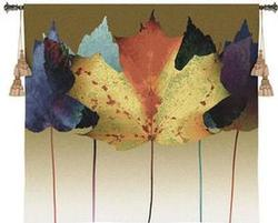 Leaf Dance Tapestry Fine Art Wall Hangings