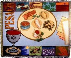Pesach Tapestry Throws