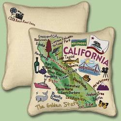 California State Tapestry Throw Pillow