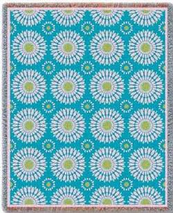 Blossom Whimsy Tapestry Throw