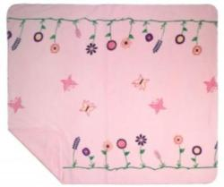 Denali Whimsical Floral Pink Microplush ® Blanket