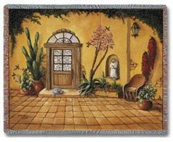 Casa Bonita Tapestry Throw