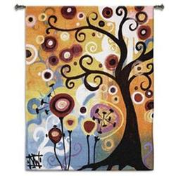 June Tree Sm Tapestry Fine Art Wall Hangings