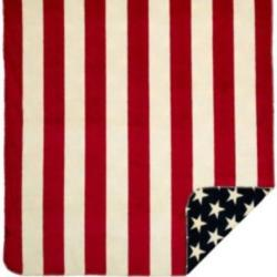 Denali Red Stars & Stripes Microplush ® Blanket