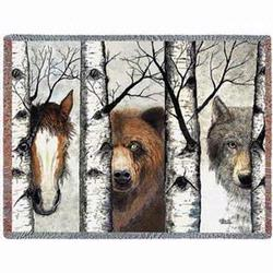 Trio Tapestry Throw