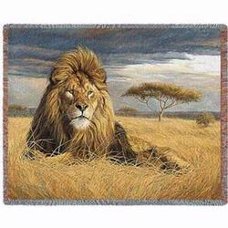 King of Pride Tapestry Throw