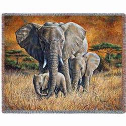 Loving Mother Tapestry Throw