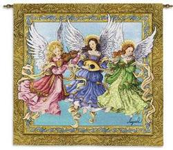 Angelic Trio Tapestry Wall Hanging