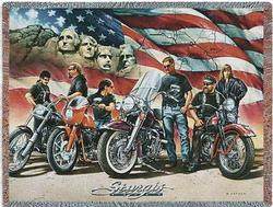Sturgis Tapestry Throw