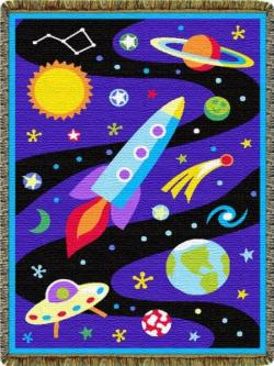 Out Of This World Tapestry Throw