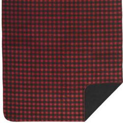 Denali Red-Black Buffalo Check Microplush ® Blanket