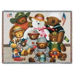 Gangs All Here Tapestry Throw