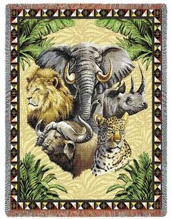 Big Five Tapestry Throw