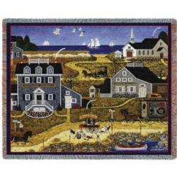 Salty Witch Bay Tapestry Throw