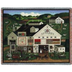 Peppercricket Farms Tapestry Throw