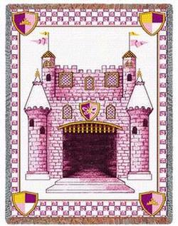 Our Princess Tapestry Throw