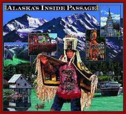 Alaska's Inside Passage Tapestry Throw