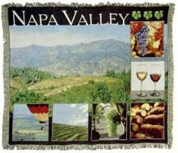 Napa Valley Tapestry Throw