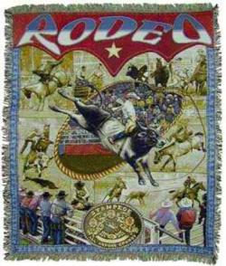 Rodeo Tapestry Throw