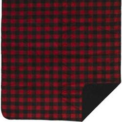 Denali Large Bunk House Plaid - Black Microplush ® Blanket