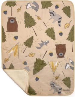 Forest Friends Soft Fleece Blankets