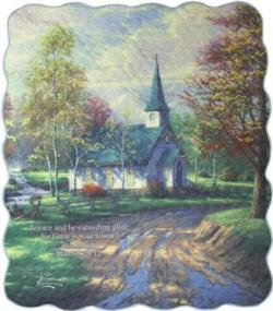 The Aspen Chapel, Matthew 5:12 Quilt Blanket