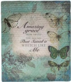 Amazing Grace Quilt Blanket