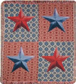 American Star Tapestry Throw