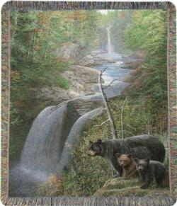 Autumn Mist Tapestry Throw