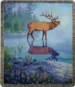 Bugle Boy Tapestry Throw