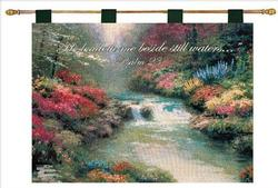 Beside Still Waters, Psalm 23 Tapestry Wall Hanging