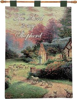 Good Shepherd's Tapestry Wall Hanging
