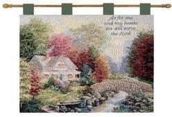 Autumn Tranquility Tapestry Wall Hanging