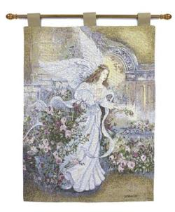 Angel of Love Tapestry Wall Hanging