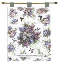 Whisper Wings Tapestry Wall Hanging