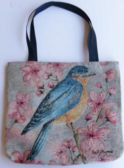Bluebird Tapestry Tote