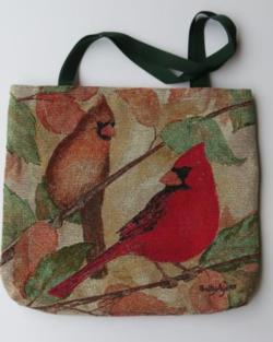 Cardinals Tapestry Tote