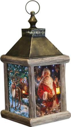 The Enchanted Fiber Optic Lantern