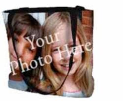 Picture Weave Photo Tapestry Tote Bag