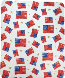 NEW God Bless America Sherpa Fleece Blanket