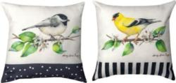 Grove Song Bird Pillow Decorative Pillow