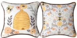 Honey and Hive Pillow Decorative Pillow