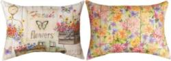 Fresh Flowers Reversible CLIMAWEAVE Pillows