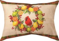 Holiday Citrus CLIMAWEAVE Pillows